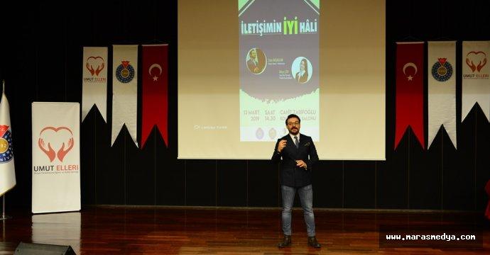 """KSÜ'DE """"İLETİŞİMİN İYİ HALİ"""" KONULU KONFERANS DÜZENLENDİ"""