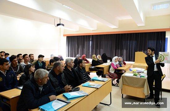 KSÜ'DE SURİYELİ SIĞINMACILAR EĞİTİMİ ÇALIŞTAYI