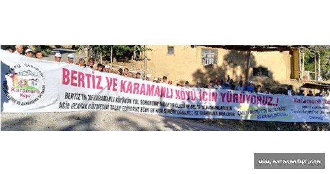 BERTİZLİLER'İN YOL İSTEĞİ
