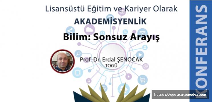 KSÜ'DE KONFERANS VERİLECEK
