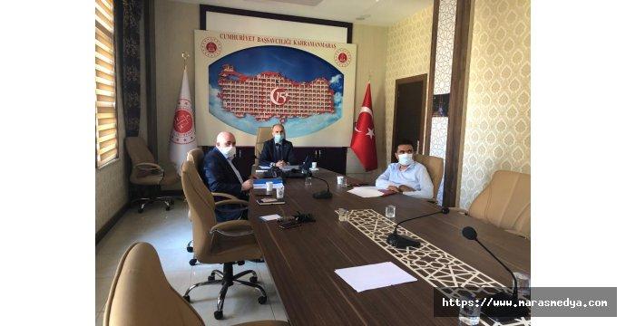 KAHRAMANMARAŞ ADLİYESİ'NDE TOPLANTI