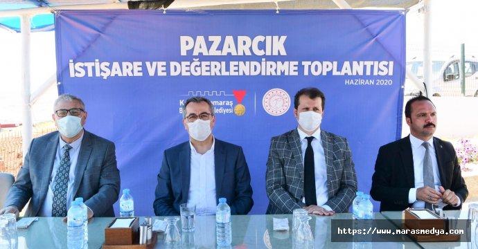 PAZARCIK'TA İSTİŞARE TOPLANTISI