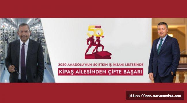 KİPAŞ HOLDİNG'TEN 2 İSİM LİSTEDE