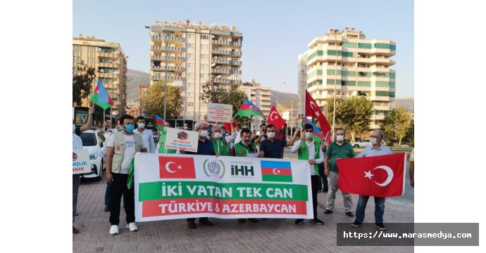 AZERBAYCAN'A İHH'DAN DESTEK