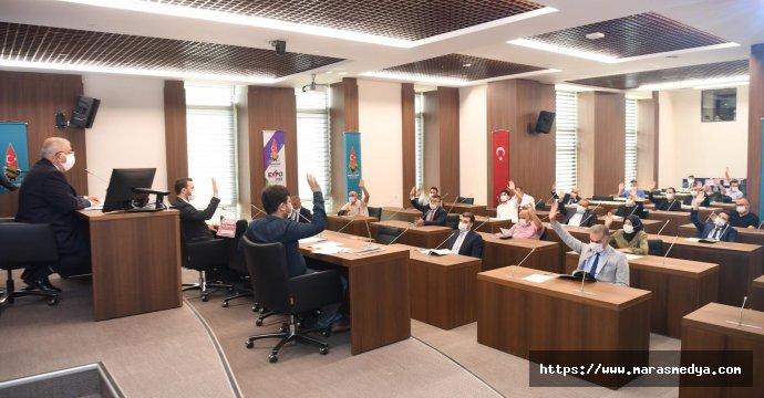 ONİKİŞUBAT BELEDİYE MECLİSİ TOPLANDI