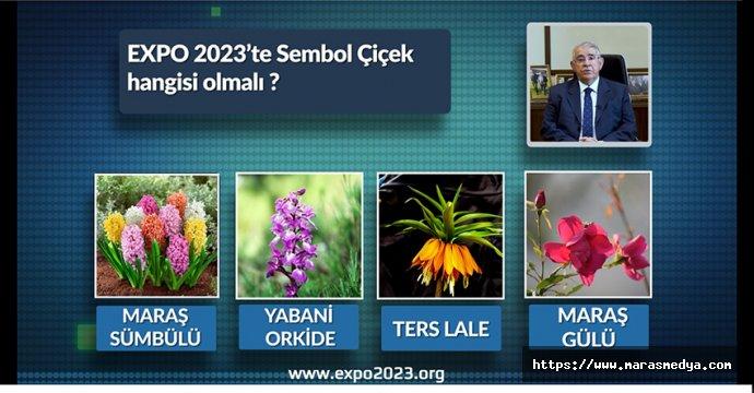 EXPO 2023 SEMBOL ÇİÇEĞİNİ BELİRLİYOR