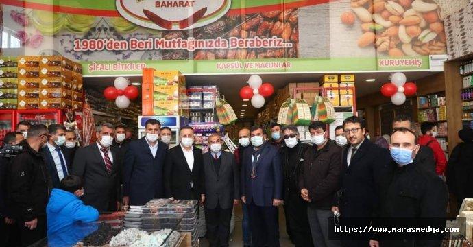 KAHRAMANMARAŞ BİBERİ İSTANBUL'DA