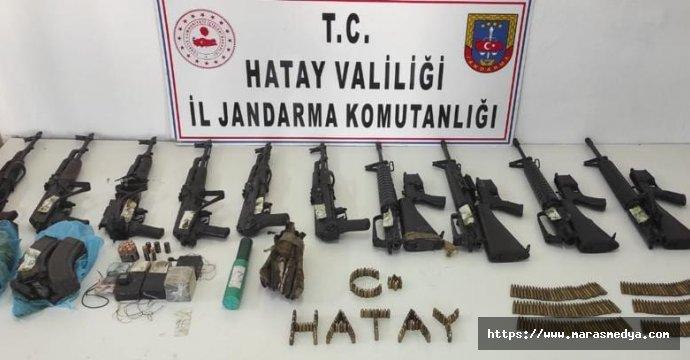 PKK'YA AİT SİLAH VE MÜHİMMAT ELE GEÇİRİLDİ