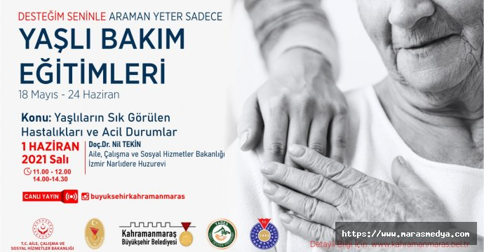 'YAŞLI BAKIM EĞİTİMLERİ' SEMİNERİ