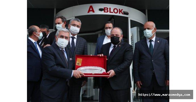 KSÜ REKTÖRÜ CAN ANKARA'DA