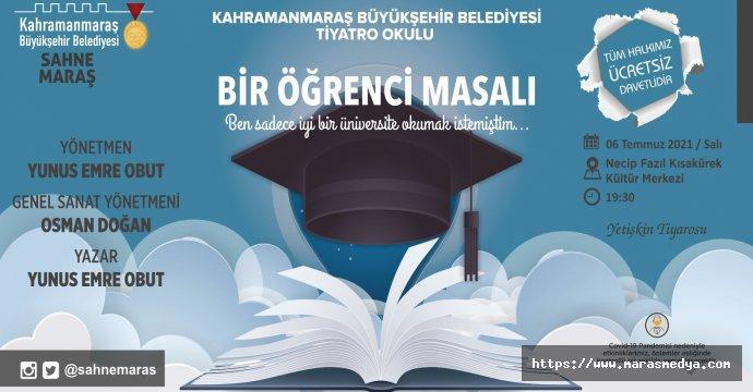 """""""BİR ÖĞRENCİ MASALI"""""""