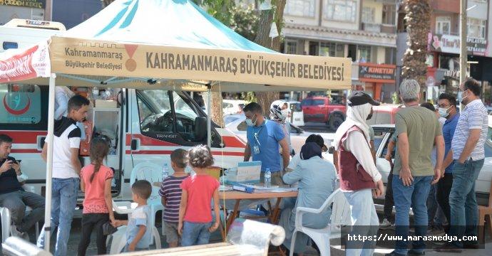 KAHRAMANMARAŞ'TA AŞI SEFERBERLİĞİ