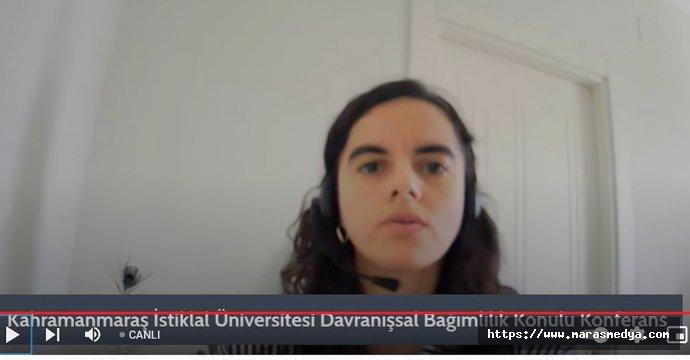"""""""DAVRANIŞSAL BAĞIMLILIK"""" KONFERANSI"""