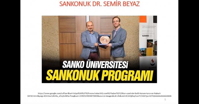 SANKO ÜNİVERSİTESİ'NDE KONFERANS