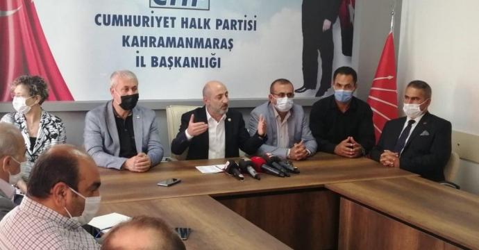 """-CHP'Lİ ÖZTUNÇ, """"VATANDAŞ ERKEN SEÇİM İSTİYOR"""""""