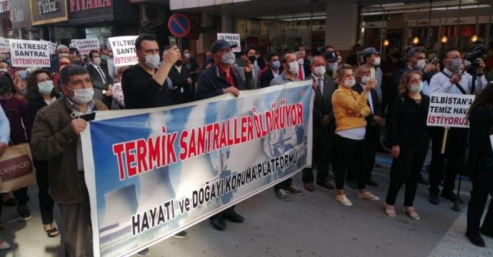 CHP'Lİ ALİ ÖZTUNÇ ELBİSTAN'DA