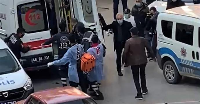 SİLAHLAR SESLERİ KAMERAYA YANSIDI