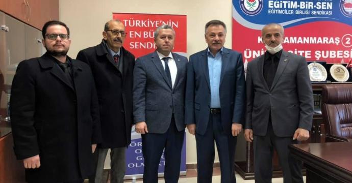 YARDIMCIOĞLU'NDAN FURKAN'A NEZAKET ZİYARETİ