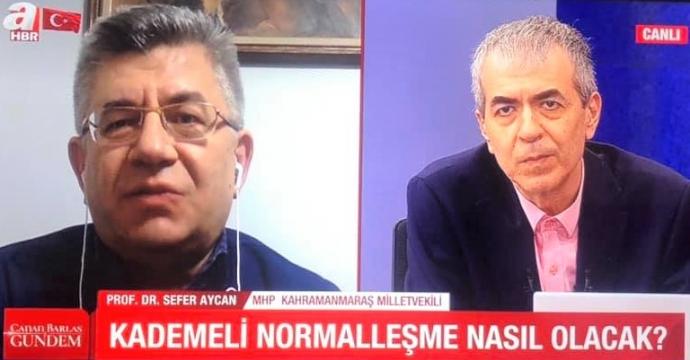 MHP'Lİ AYCAN'DAN ÖNEMLİ AÇIKLAMA