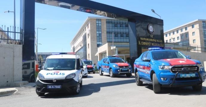 POLİS VE JANDARMADAN ÖZEL KONVOY