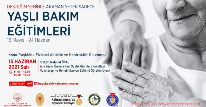'YAŞLI BAKIM EĞİTİMLERİ'