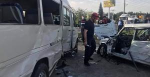 KAHRAMANMARAŞTA TRAFİK KAZASI